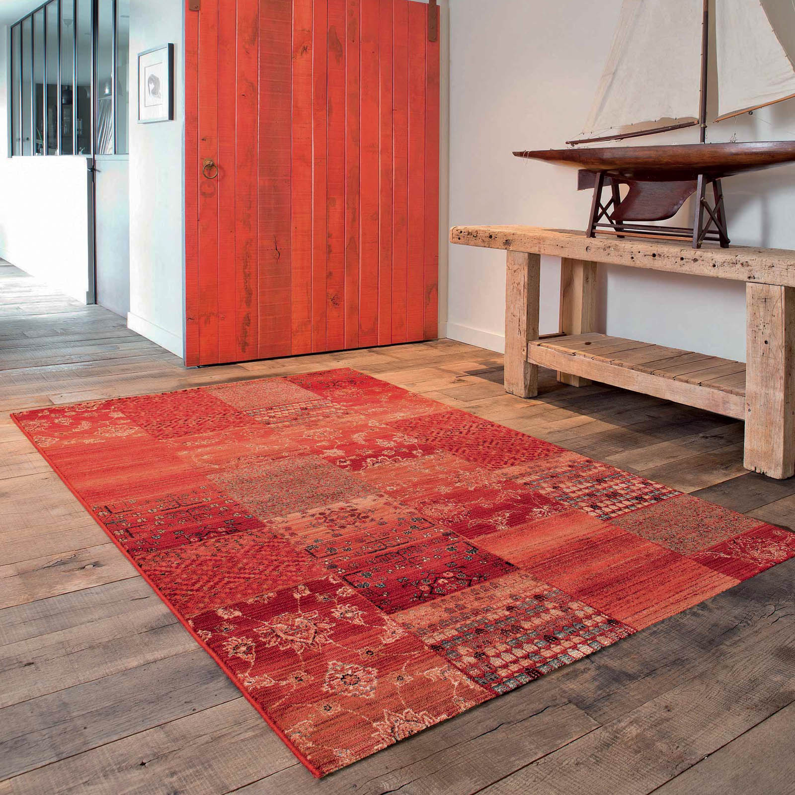 Royal Kashqai Rugs 4327 300 in Red