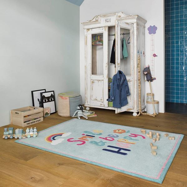 Happy Me Rugs - Blue