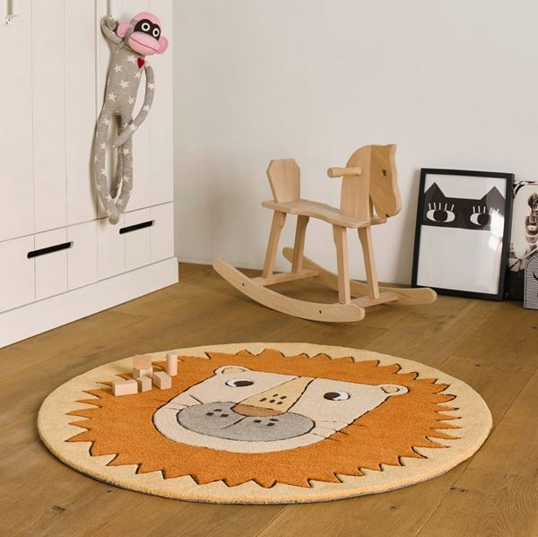 Linus Kids Rugs - Orange