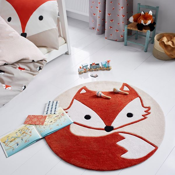 E-Fox Kids rugs - Beige