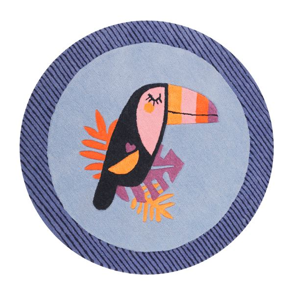 E-Toucan Kids rugs - Blue