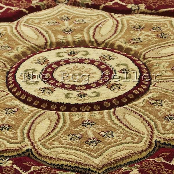 Heritage 4400 Circular Rugs In Red Buy Online From The Rug