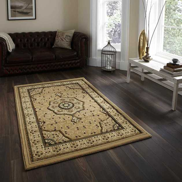 Heritage 4400 Rugs in Beige