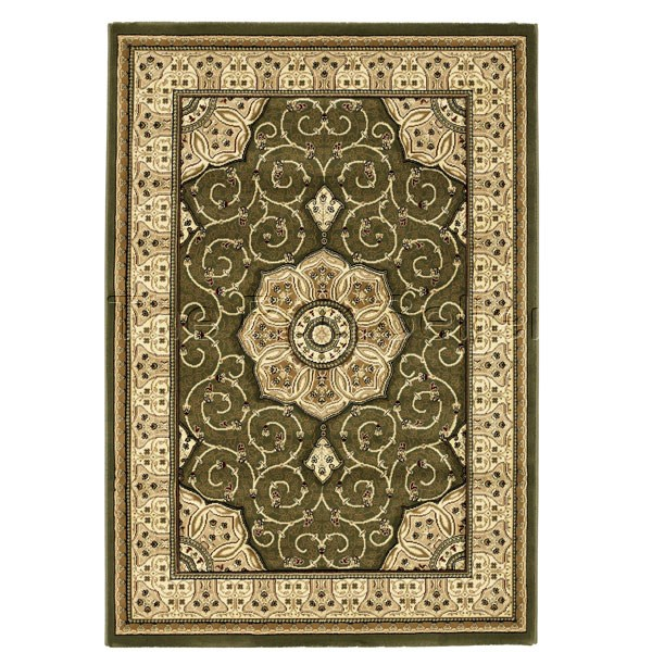 Heritage 4400 Rugs In Green Free Uk Delivery The Rug