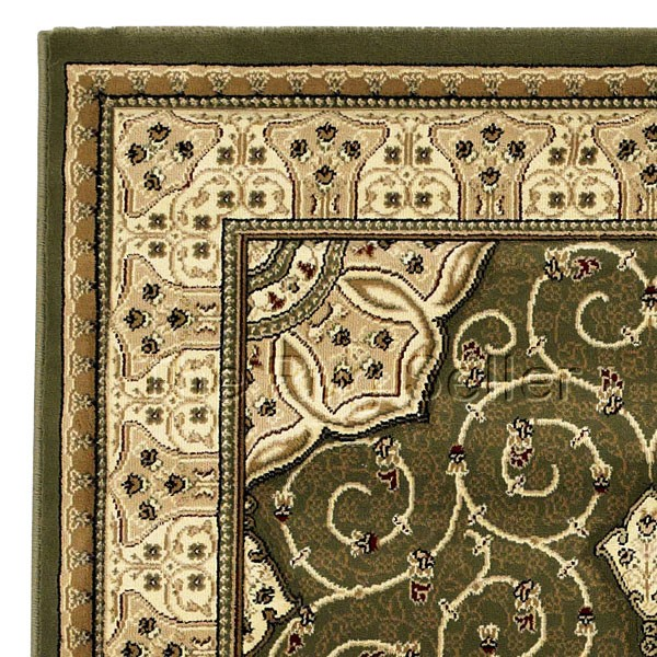 Heritage 4400 Rugs In Green Buy Online From The Rug Seller Uk