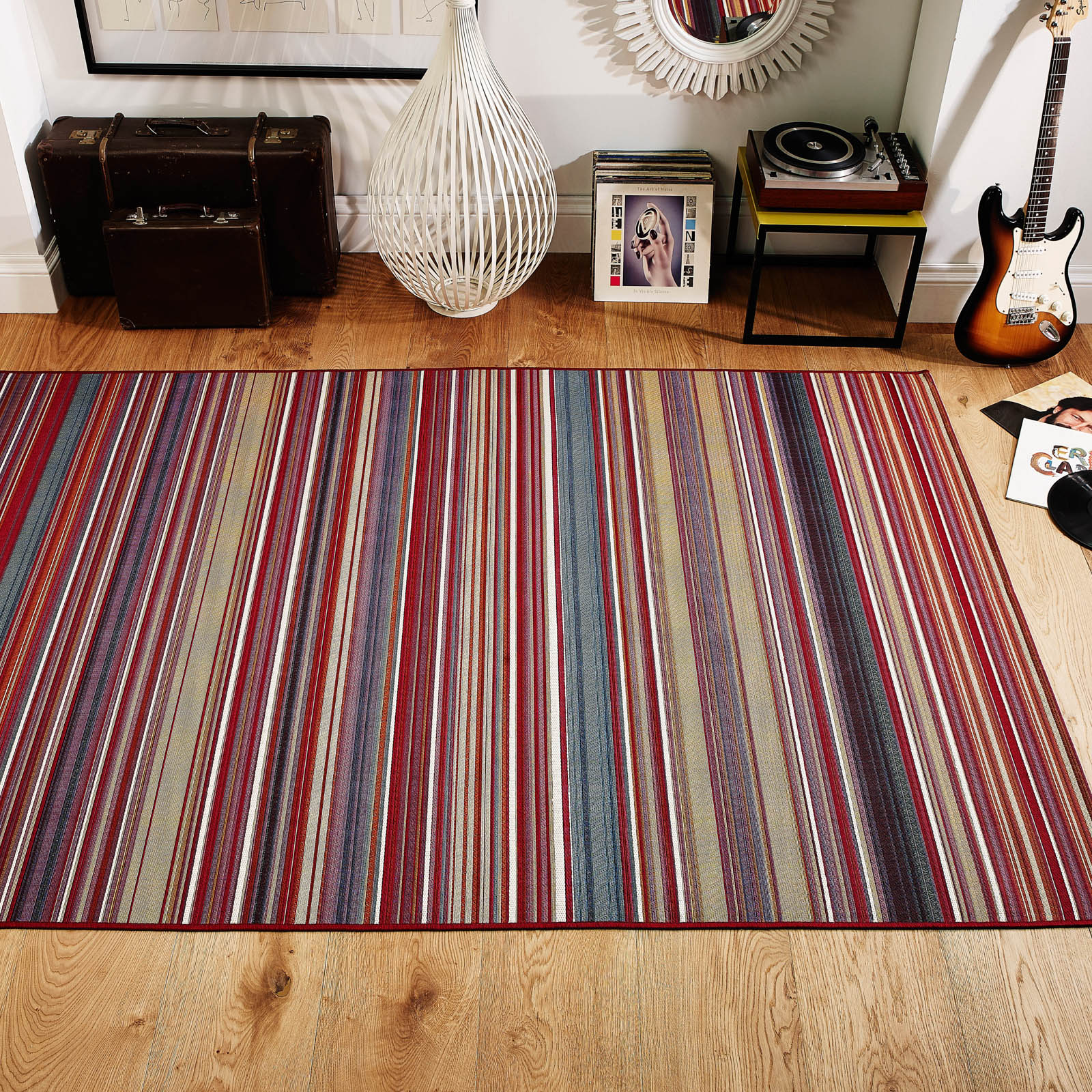 Carlucci Rugs 50 R Red