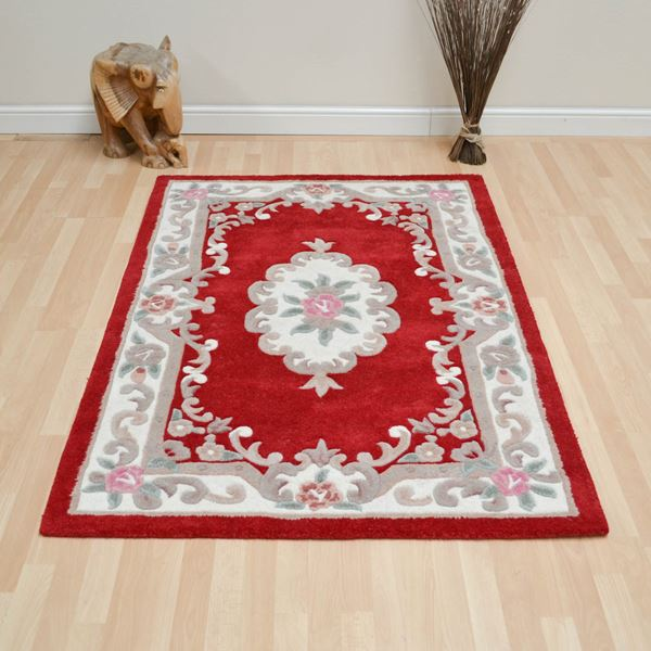 Aubusson Full Cut - Red