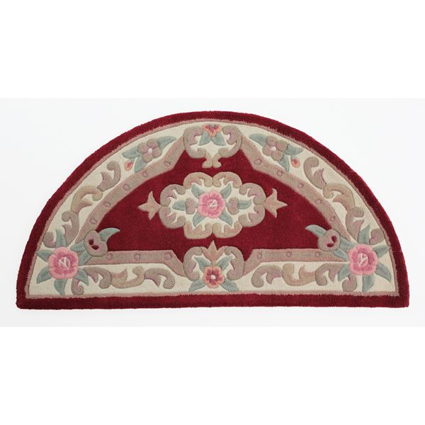 510 Aubusson Moon - Red