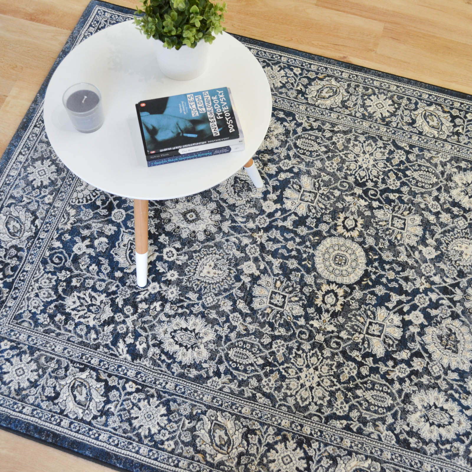Da Vinci Rugs 57125 3636 in Grey