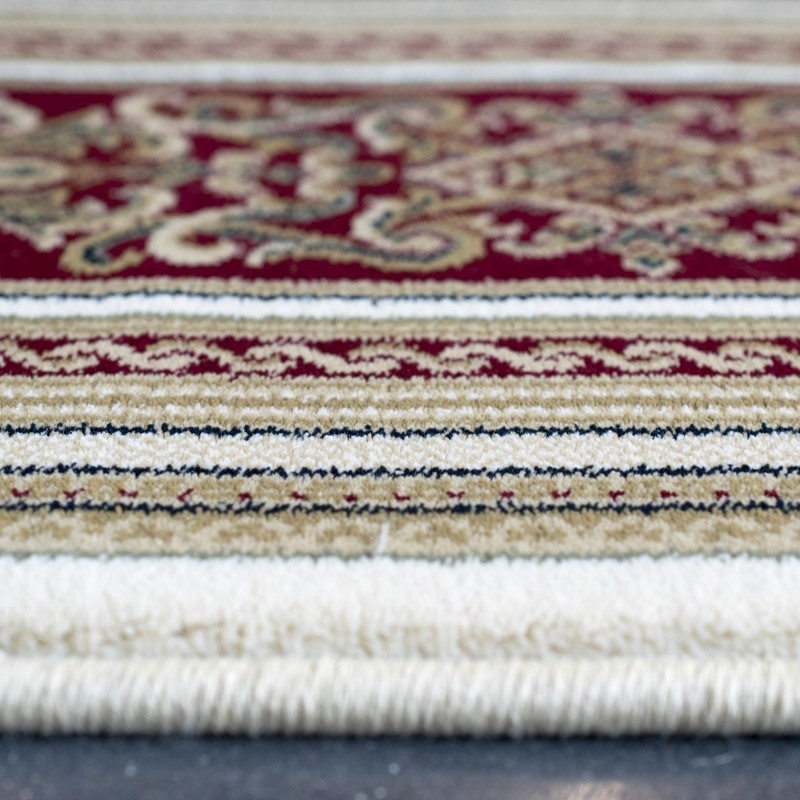 Da Vinci Rugs 57801 6414 In Cream And Red Buy Online From