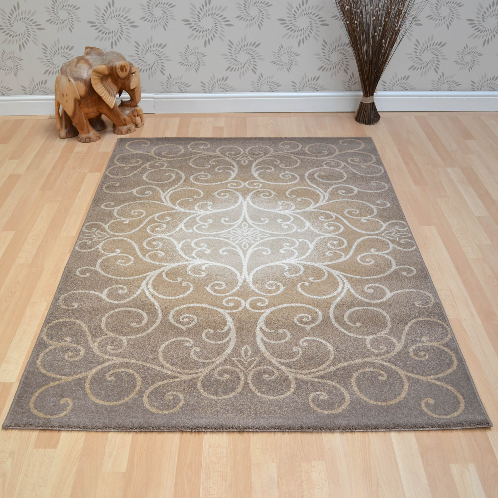 Tivoli Rugs 5895 239 Brown Beige