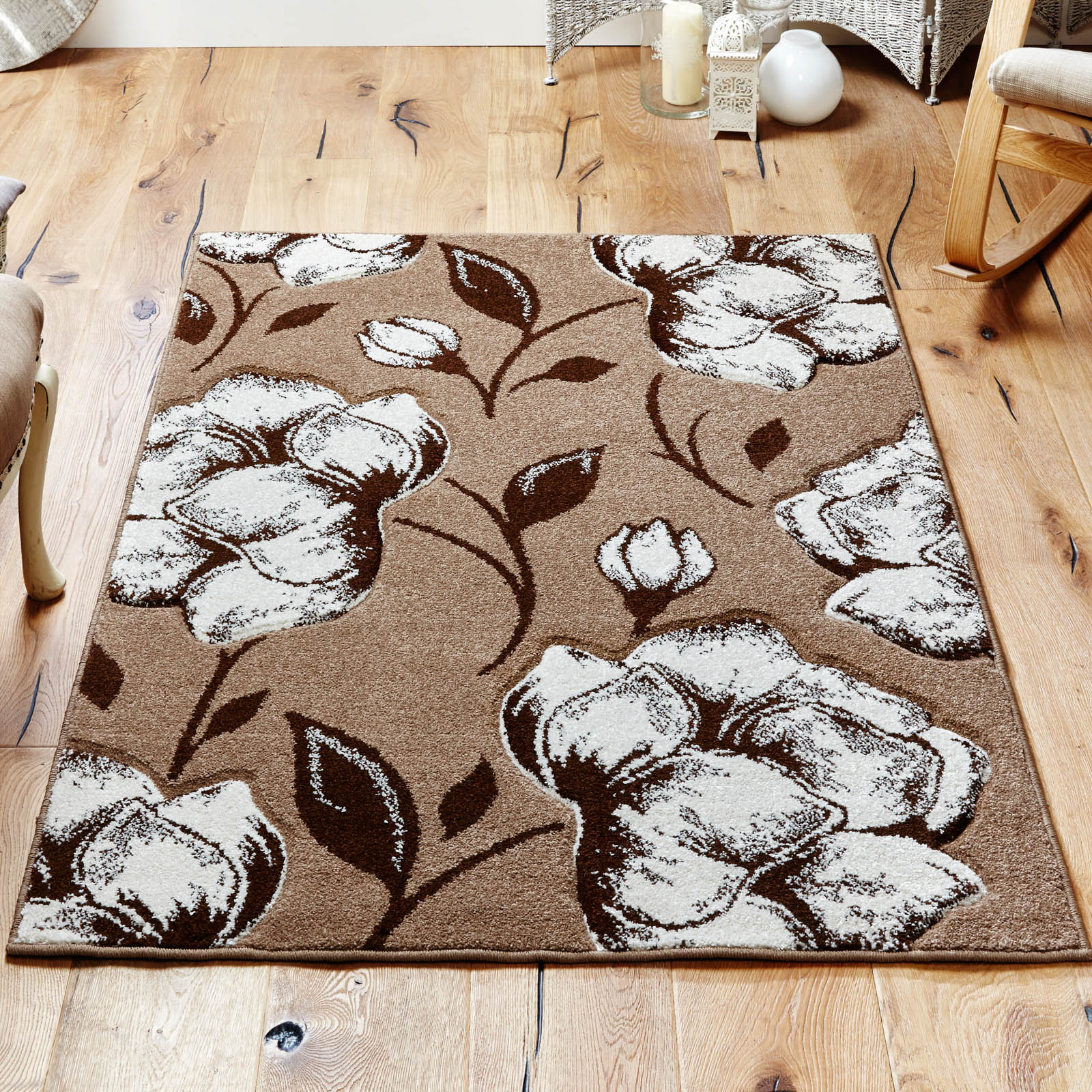 Viva Rugs 5996 D in Beige