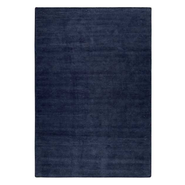 Maya Kelim Rugs 6019 05 in Dark Blue by Esprit