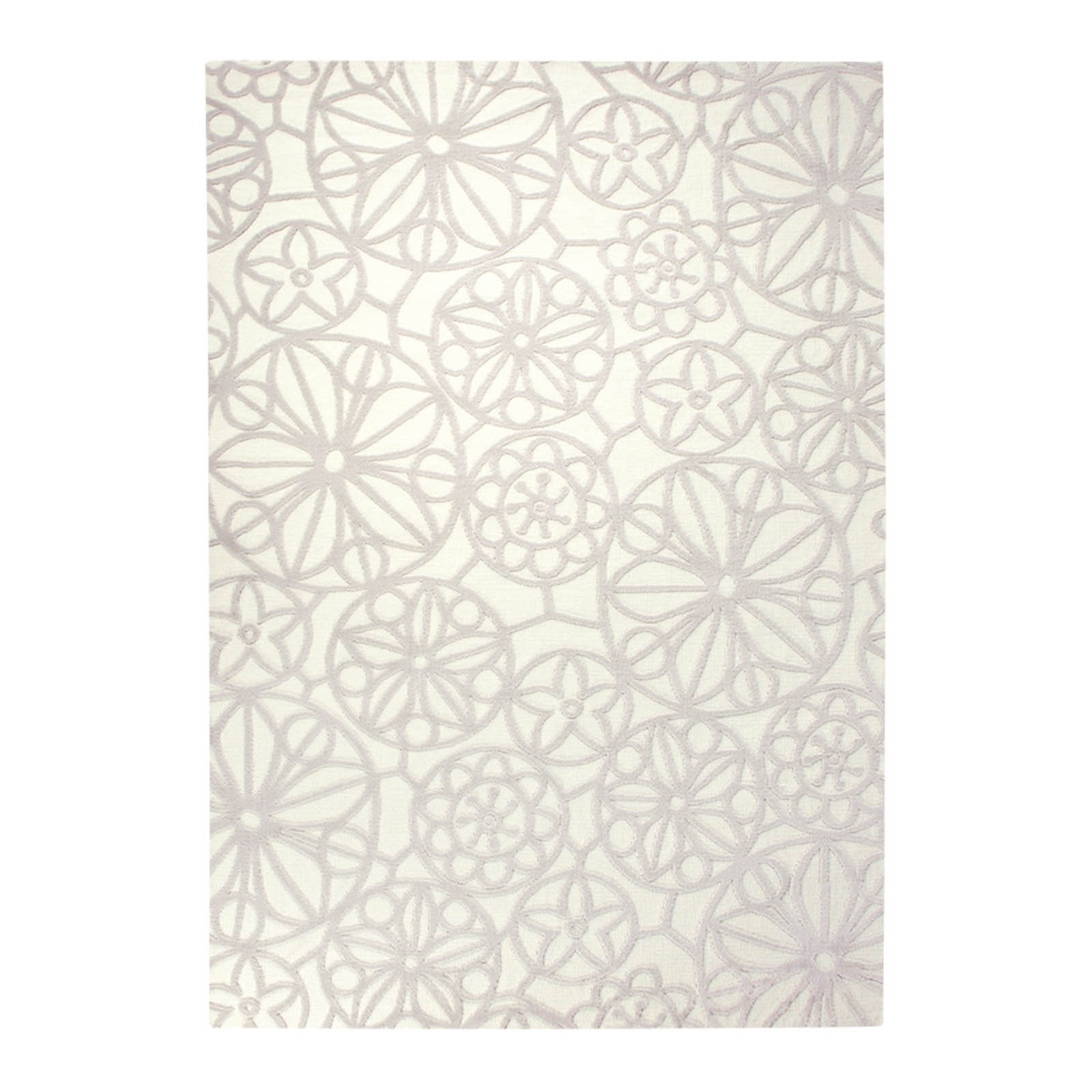 Esprit Society Circle Rugs 6100 06 Beige