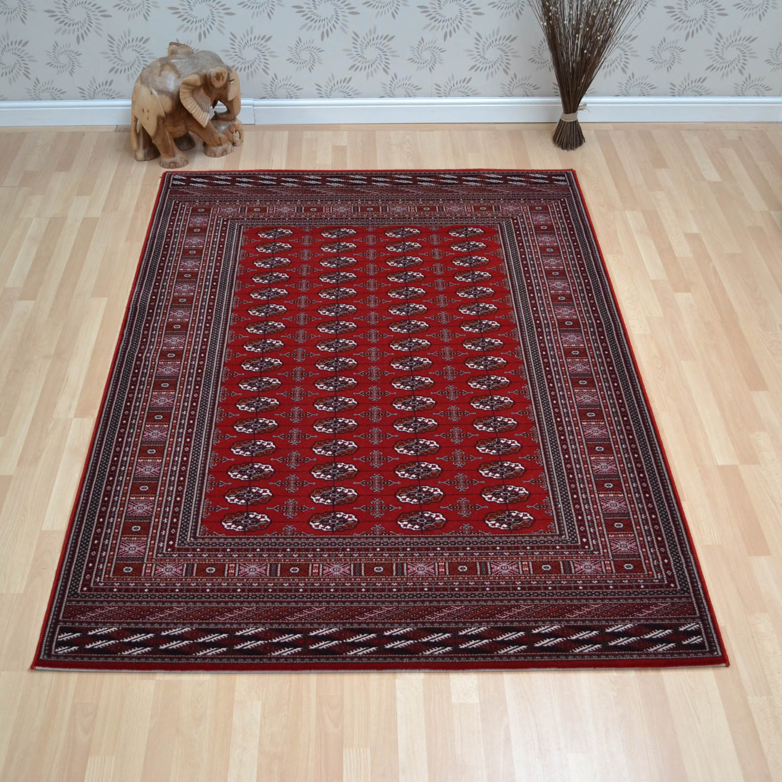 Nain Rugs 6211 677 Red by Lano