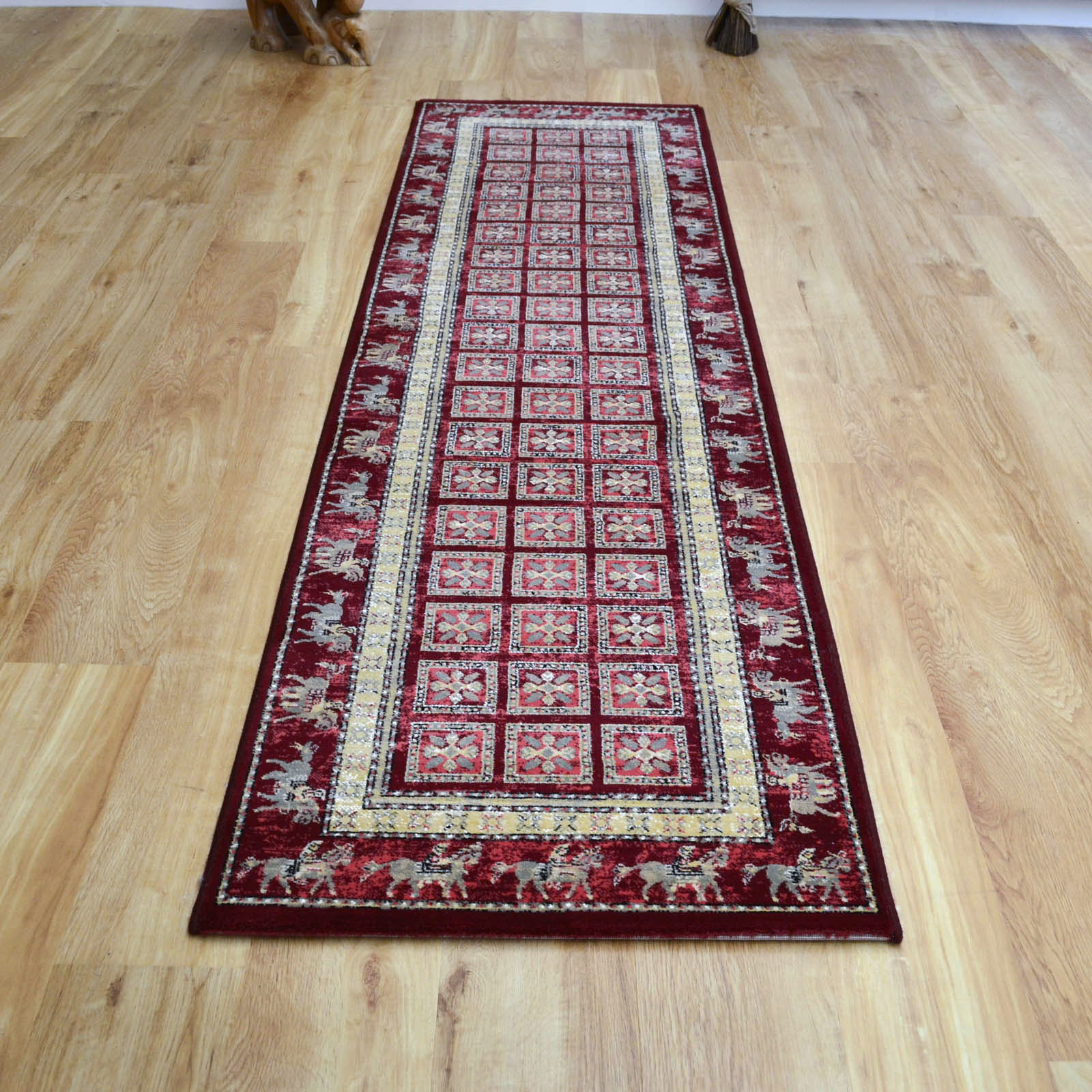 Noble Art Traditional Hallway Runners 65106 390 Pazyryk Red