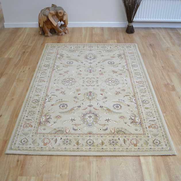 Noble Art Traditional Rugs 65124 190 in Beige