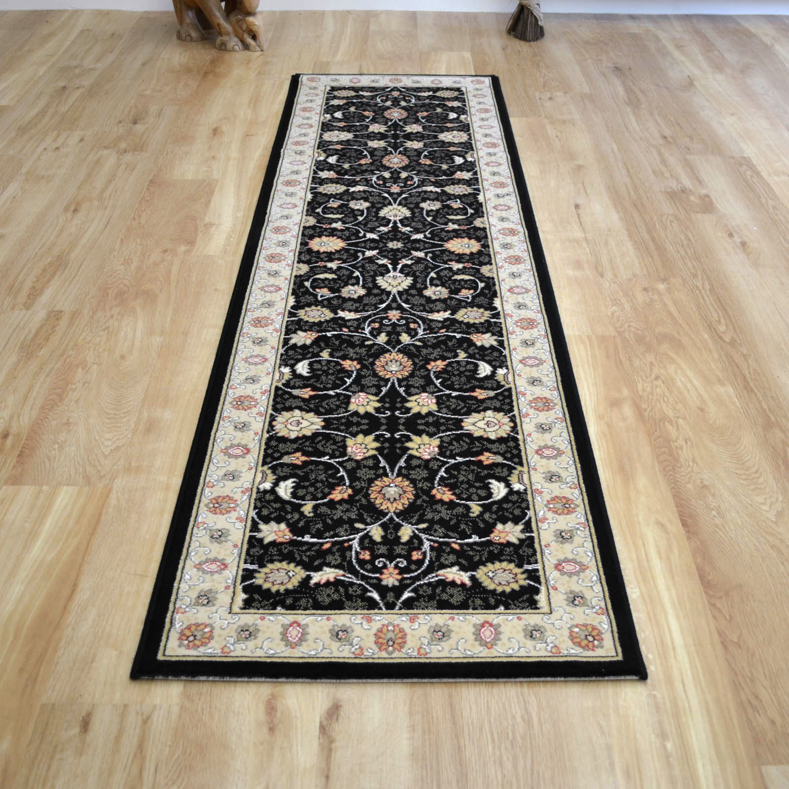 Noble Art Hall Runners 6529 090 in Black