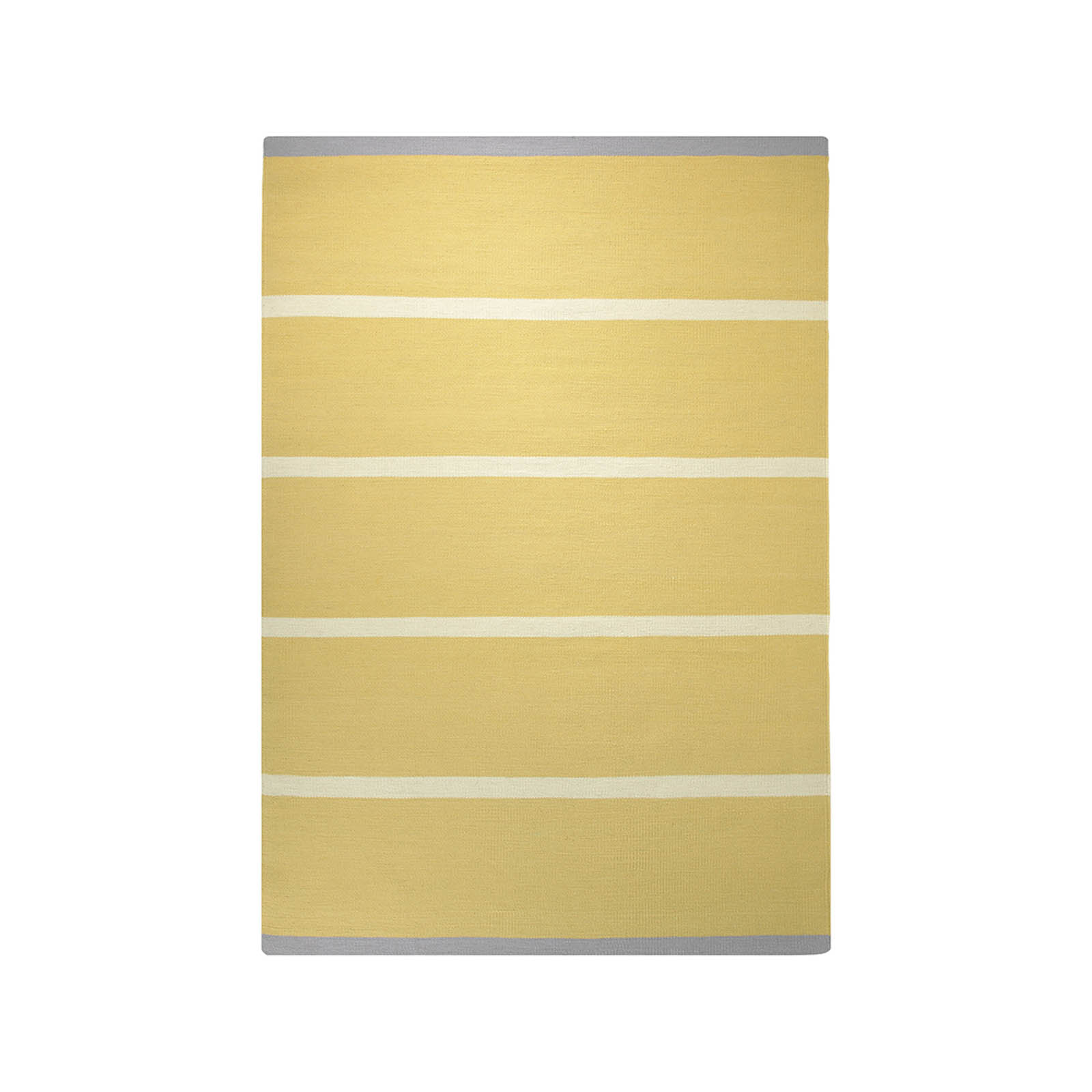 Esprit Simple Stripe Rugs 7017 05 Yellow
