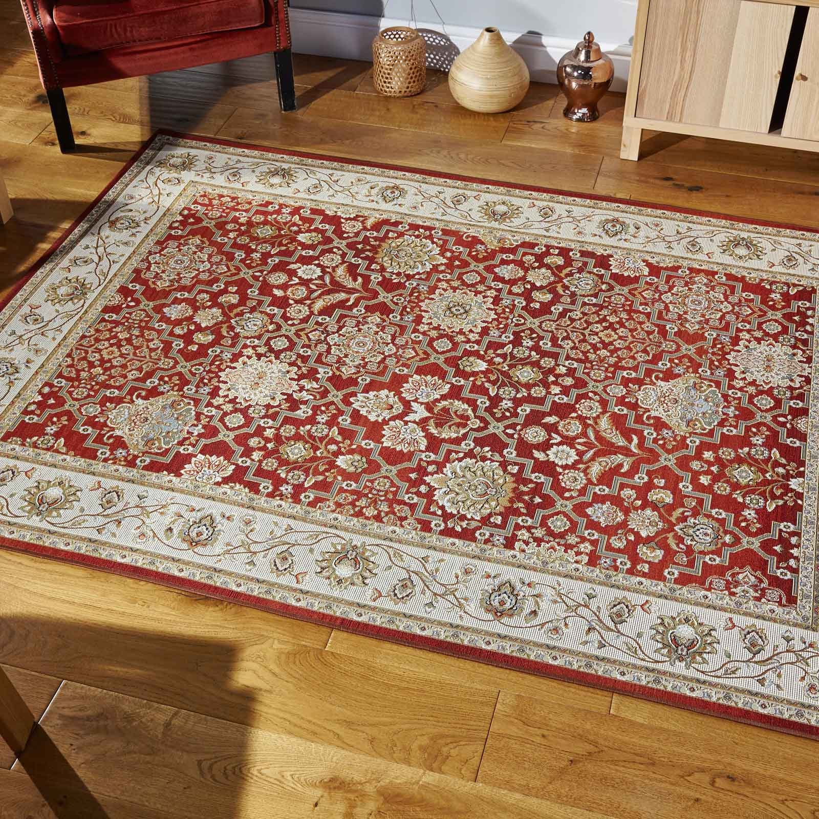 Carlucci Rugs 73 R in Red