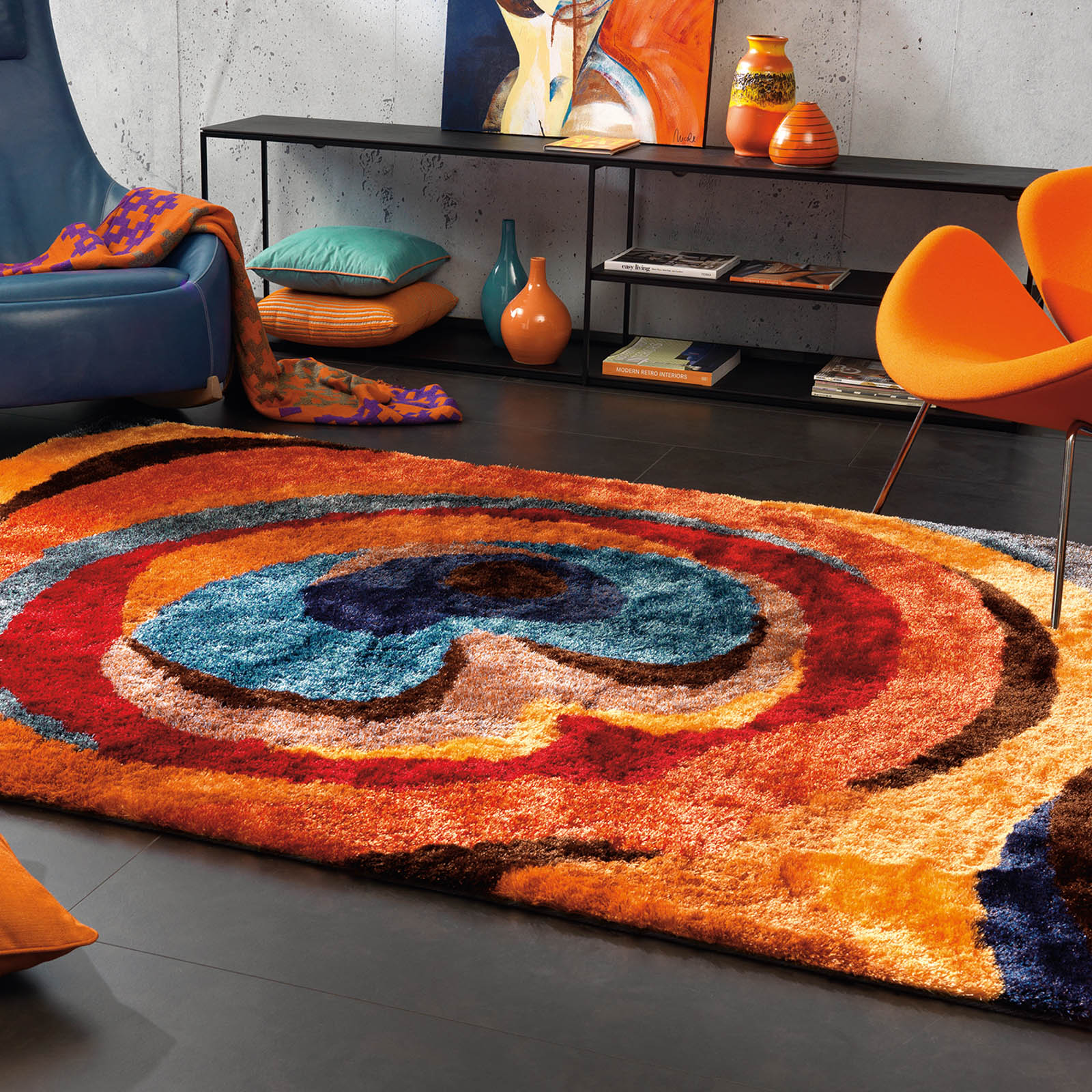 Arte Espina Funky Rugs 8114 28 Free Uk Delivery The