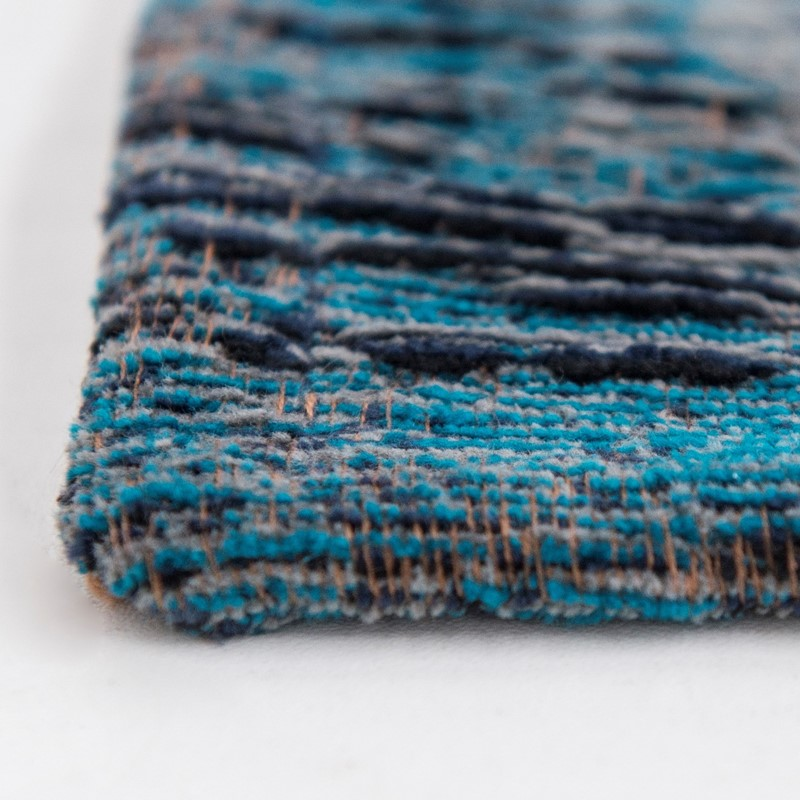 Purple Turquoise Rag Rug: Louis De Poortere Fading World Rugs 8255 Grey Turquoise