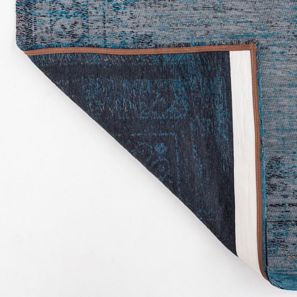 Louis De Poortere Fading World Rugs 8255 Grey Turquoise
