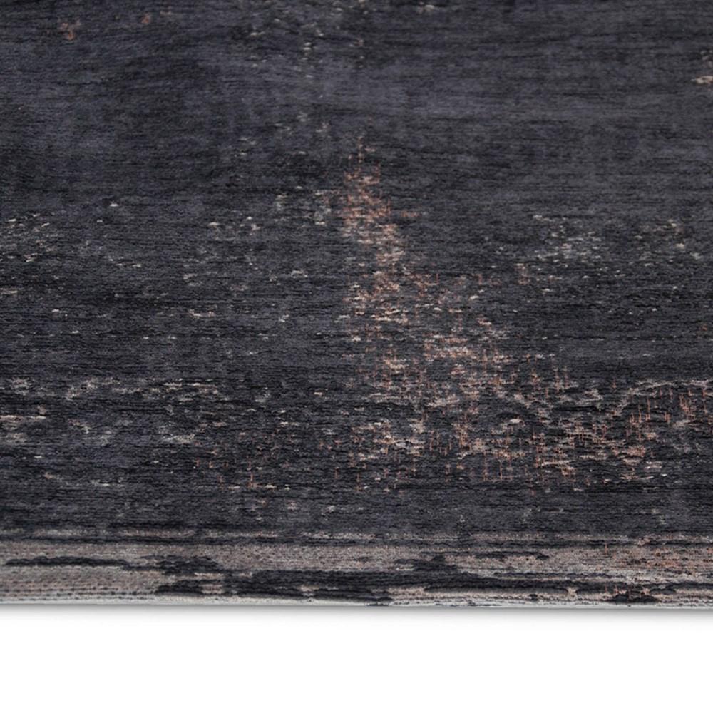 Louis De Poortere Fading World Rugs 8263 Mineral Black