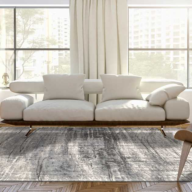 Mad Men Griff Rug 8420 in Jersey Stone