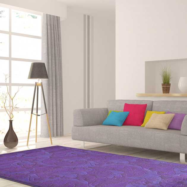 Highlight Rugs 86004 1979 Purple