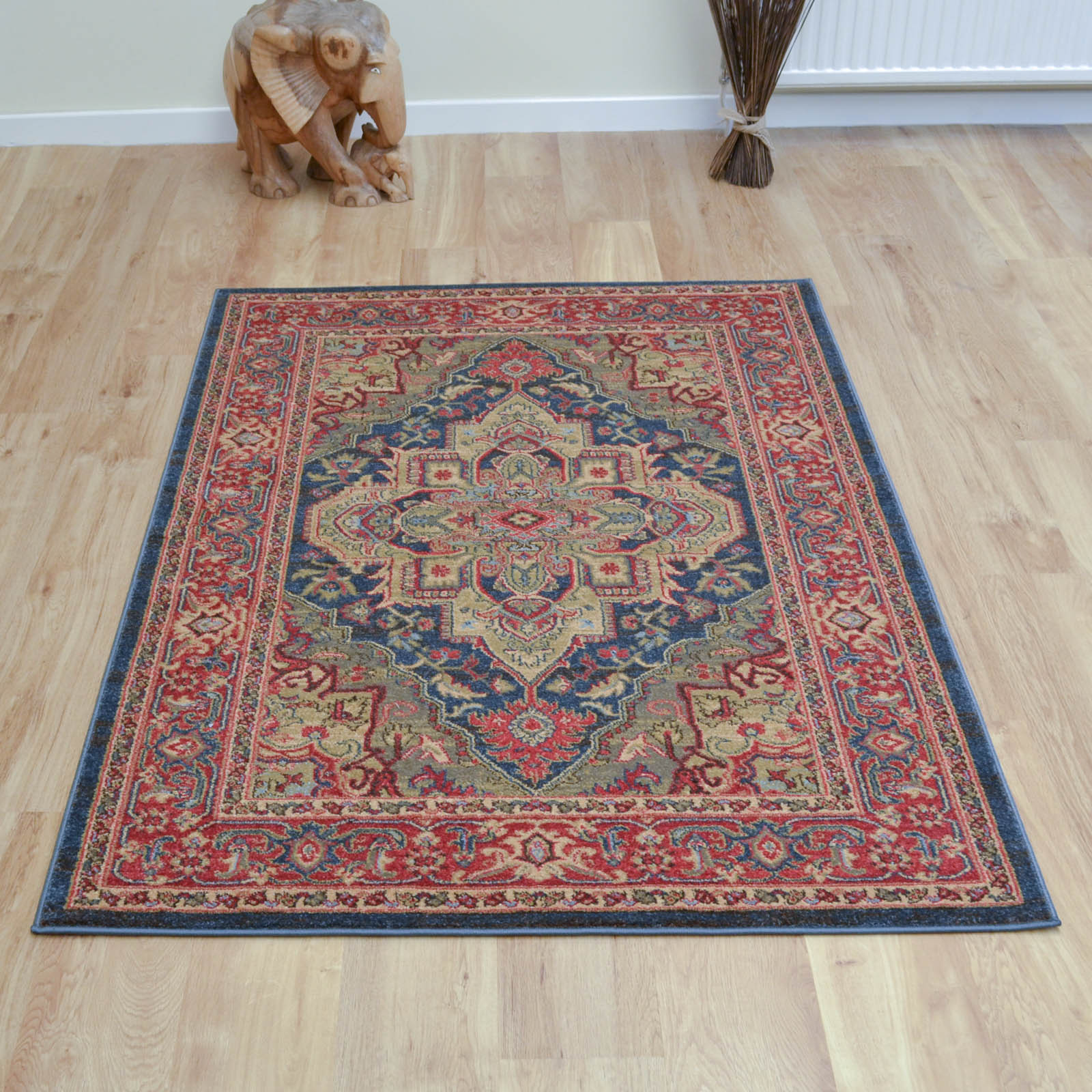 Ziegler Rugs 8788 in Dark Blue