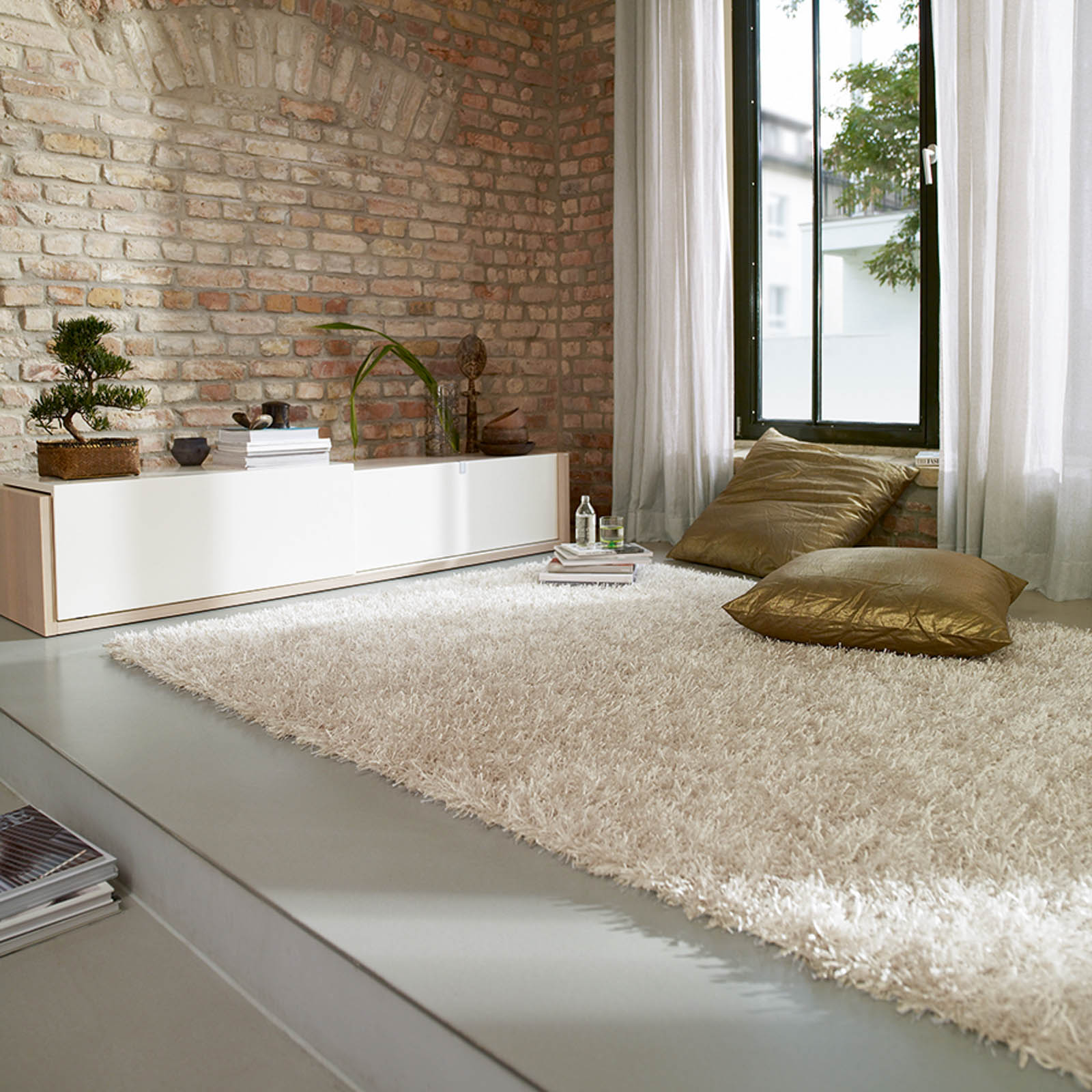 Esprit Cool Glamour Rugs 9001 01 White
