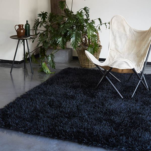 Cool Glamour Rugs 9001 09 - Black