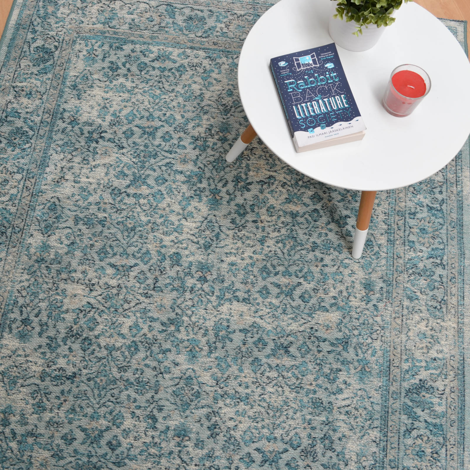 Capri Rugs 91268 5001 in Blue
