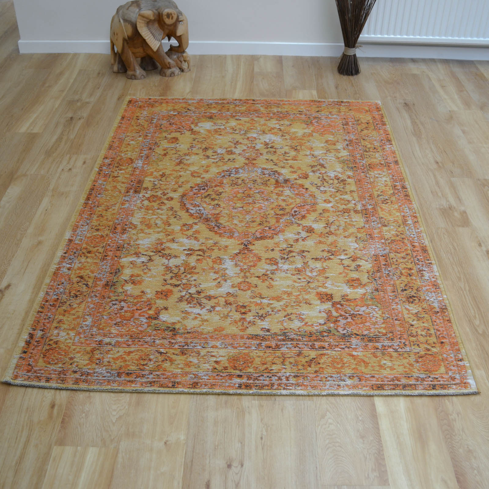 Capri Rugs 91269 8005 in Orange