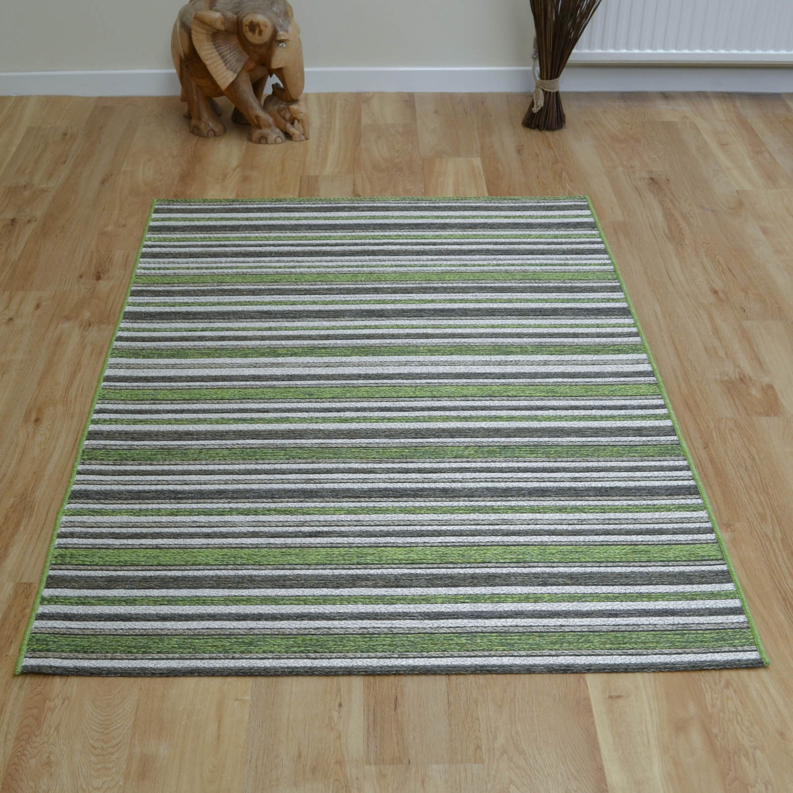 Brighton Rugs 98170 4001 in Green