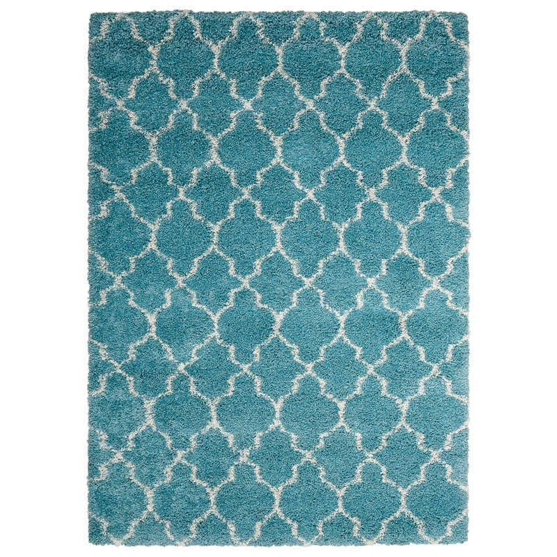 Nourison Amore AMOR2 Rugs In Aqua Blue Buy Online From The