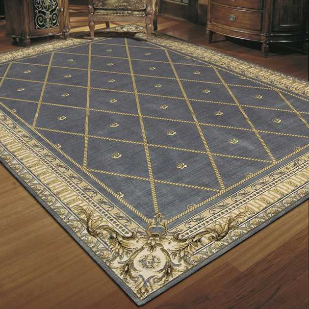 Ashton House Rugs by Nourison AS03 in Blue