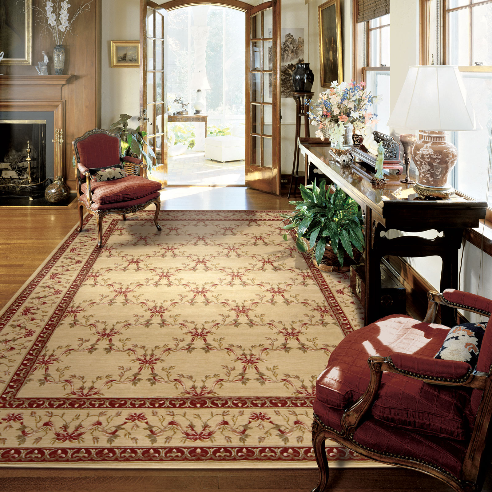 Ashton House Rugs by Nourison AS07 in Beige