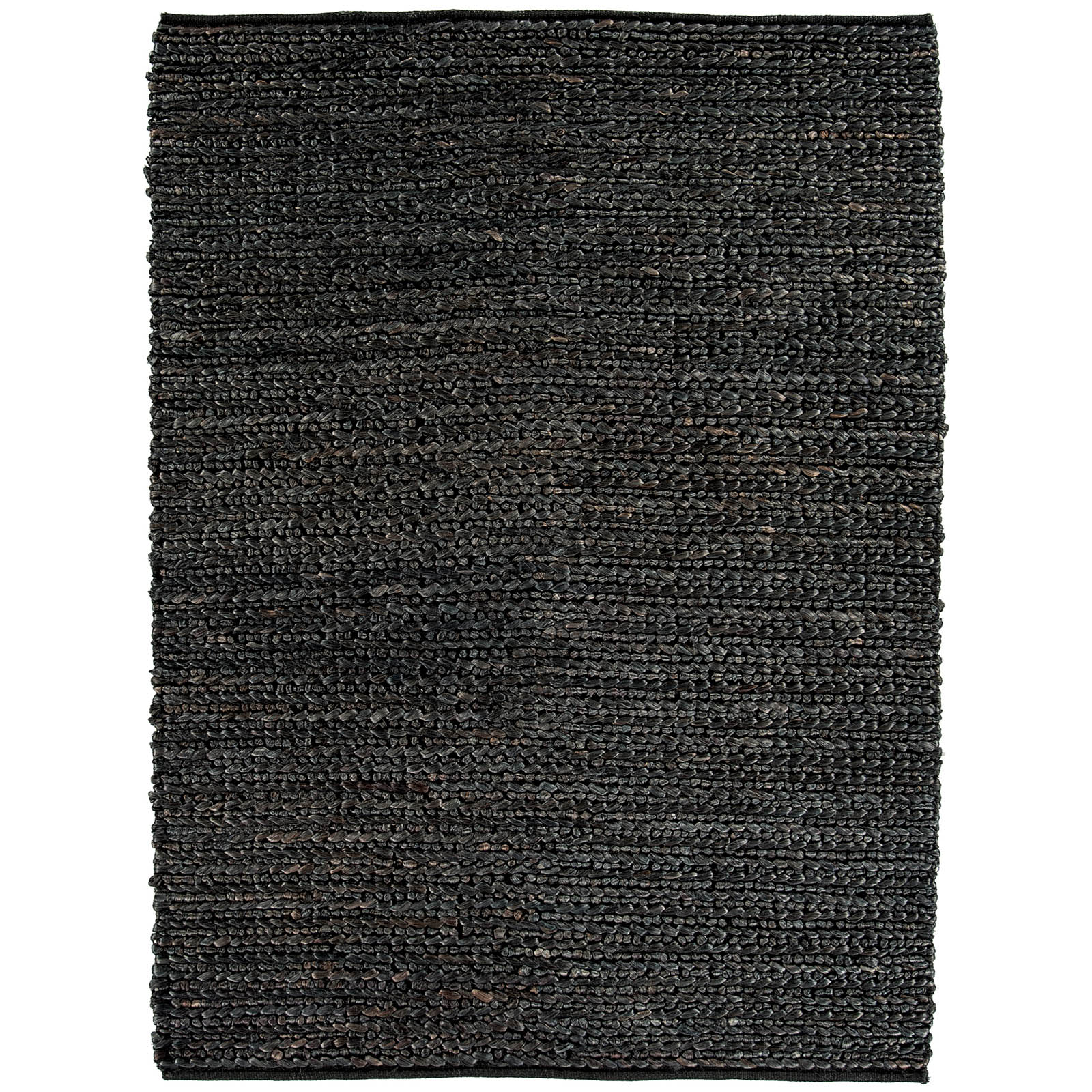 Abacus Jute Rugs in Charcoal