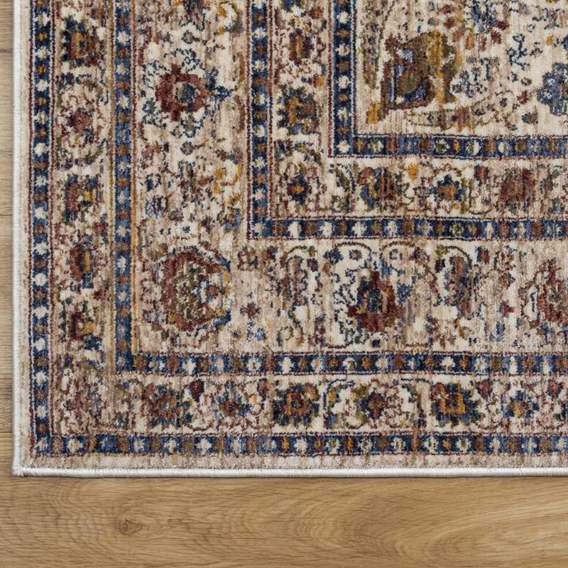 Alhambra Rugs 6345c In Ivory And Beige Buy Online From The