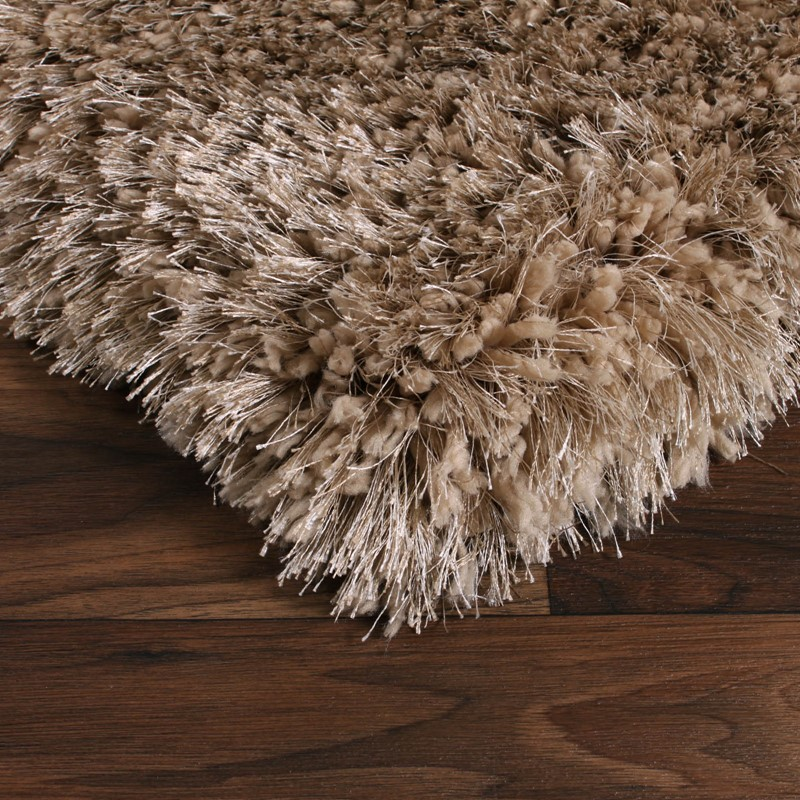Allure Shaggy Rugs In Mink Buy Online From The Rug Seller Uk