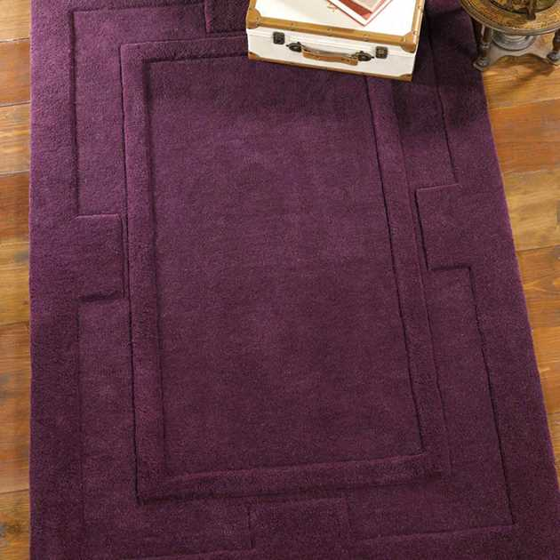 Sierra Apollo Rugs in Purple