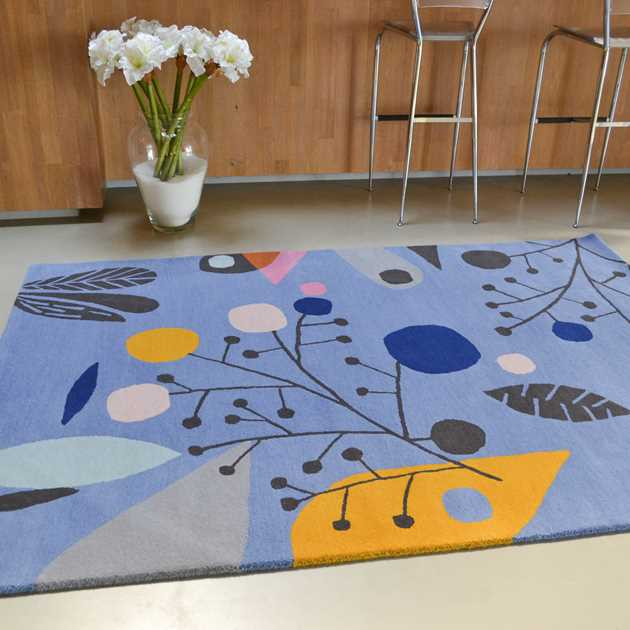 Estella Aquatic Rugs 88908 by Brink and Campman