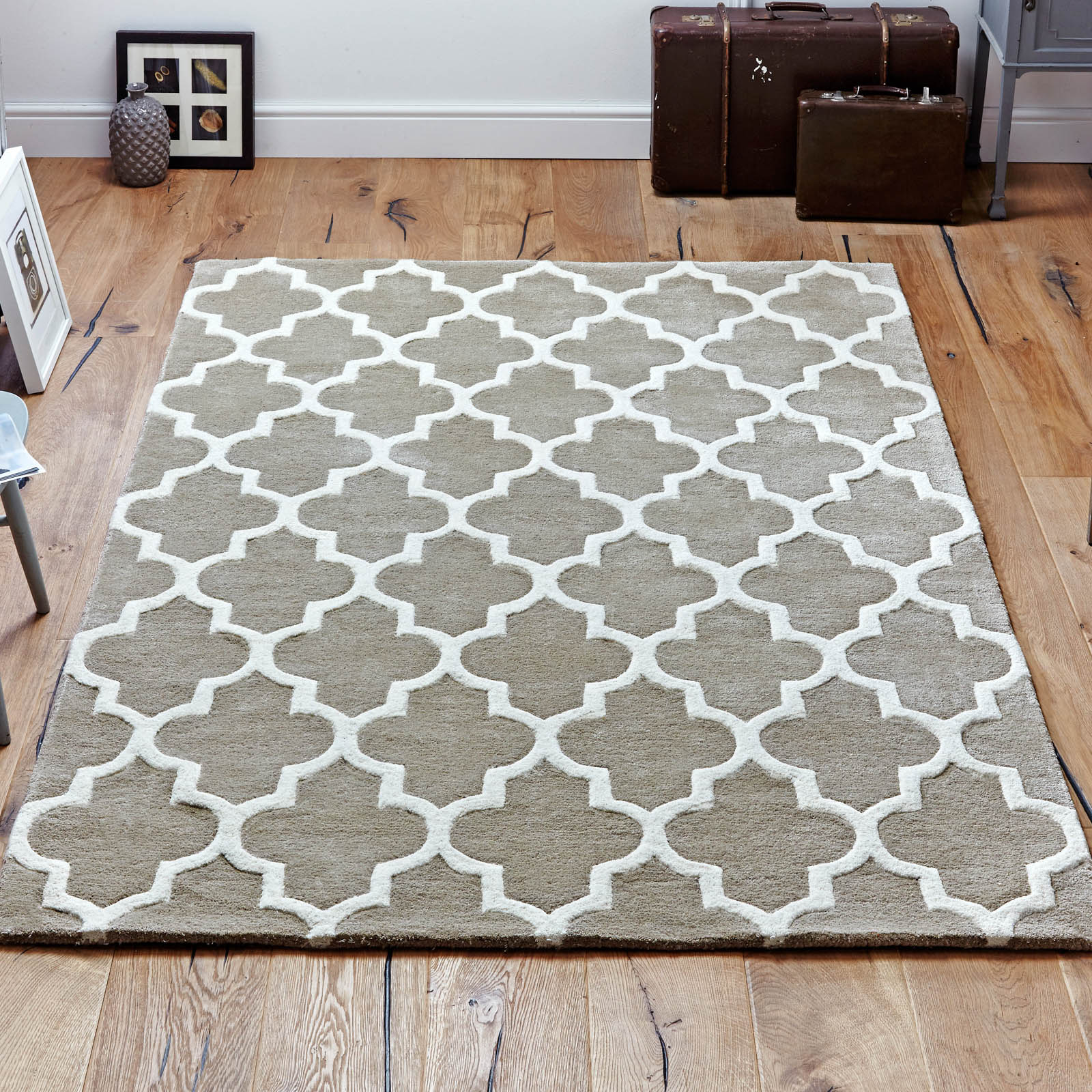 Arabesque Rug in Beige