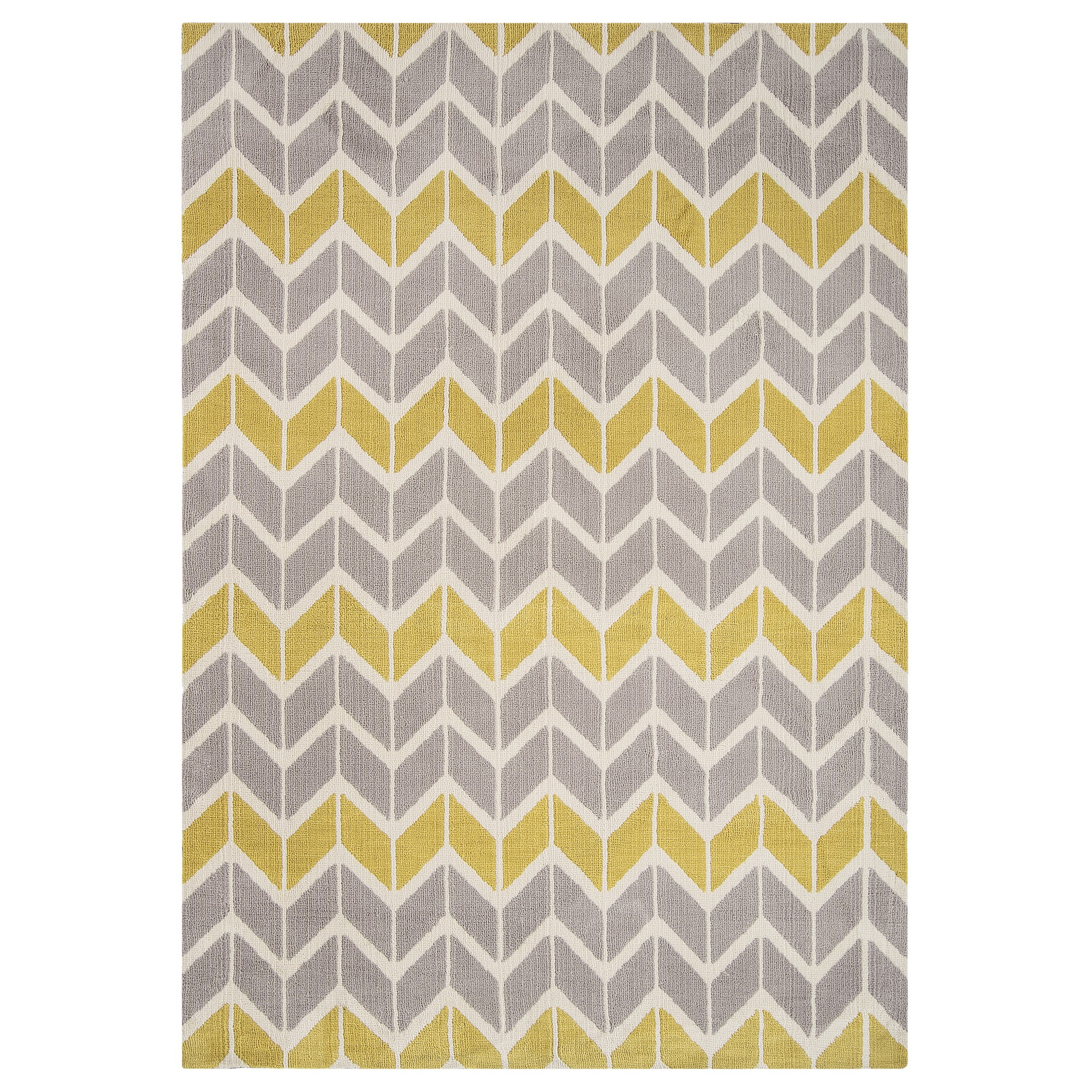 arlo chevron rugs ar in lemon and grey  free uk delivery  the  - arlo chevron rugs ar in lemon and grey