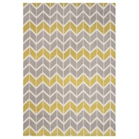Chevron AR06 - Lemon Grey