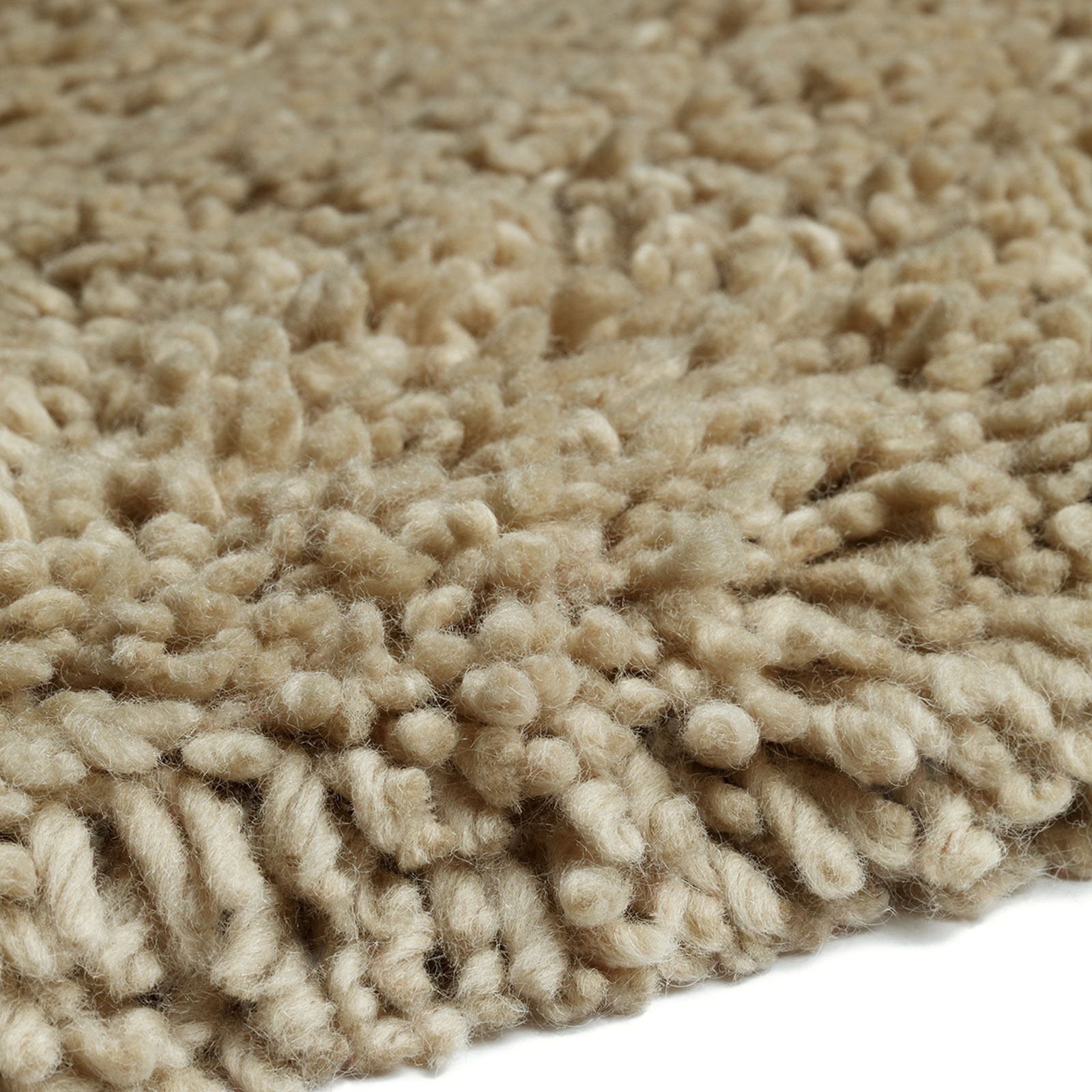 Arctic Shaggy Wool Rugs Nature 14