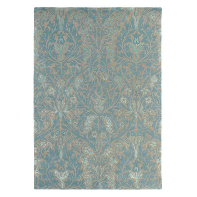 Autumn Flowers Rugs 27508 in Eggshell by William Morris