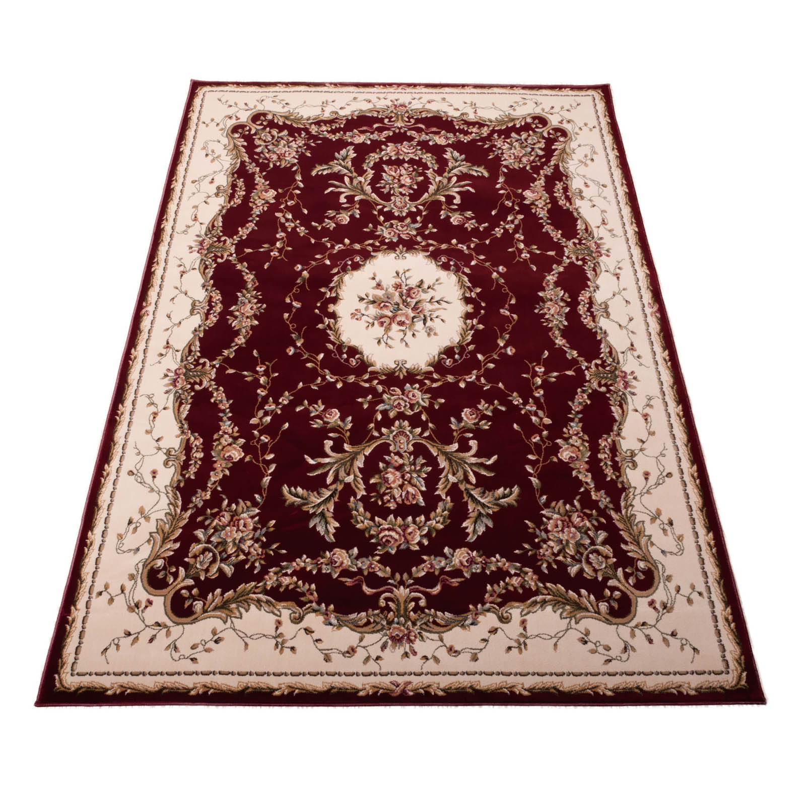 Bordeaux Rugs BOR01 in Burgundy